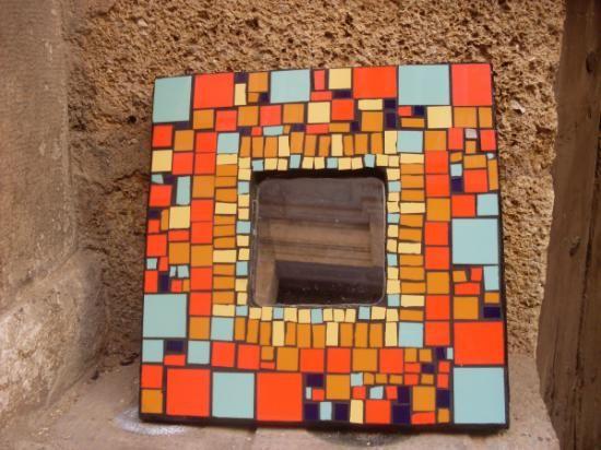 Espejo mosaico ceramica espejo mosaico ceramica baldosas for Mosaicos para espejos