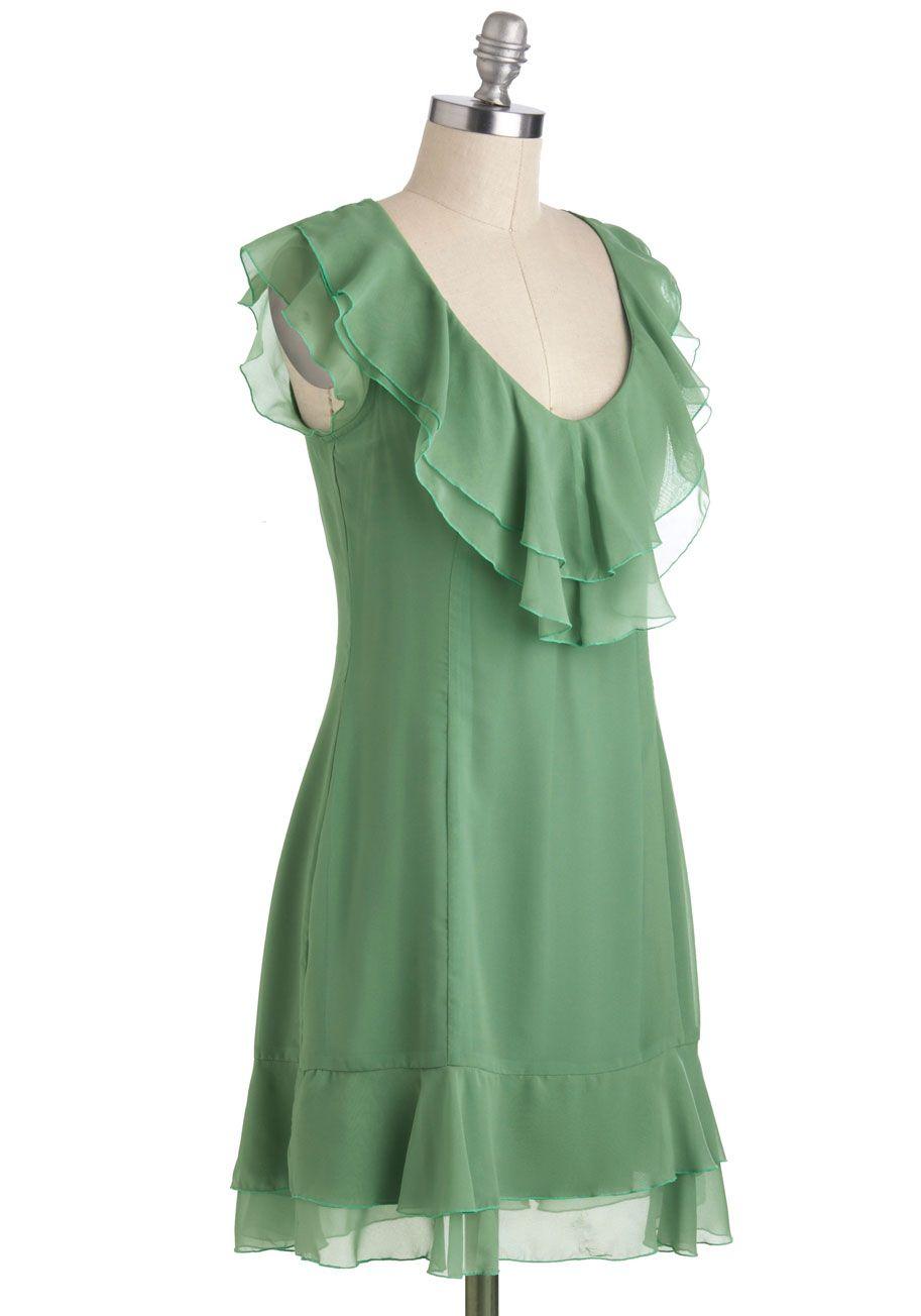 Tulle Clothing Flow Motion Dress Mod Retro Vintage