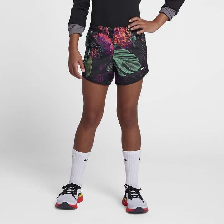 b731e414e7 Nike Big Kids' (Girls') Printed Running Shorts Dri-FIT Tempo in 2019 ...