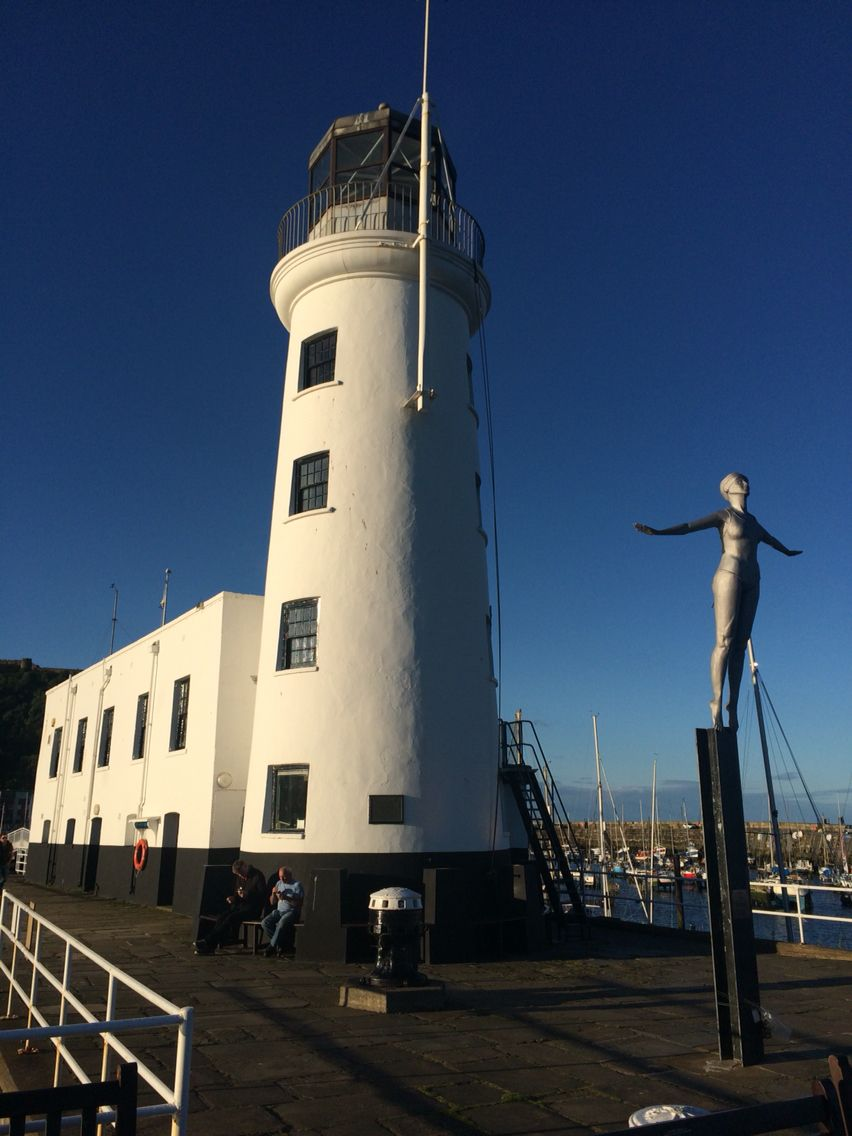Scarborough lighthouse.