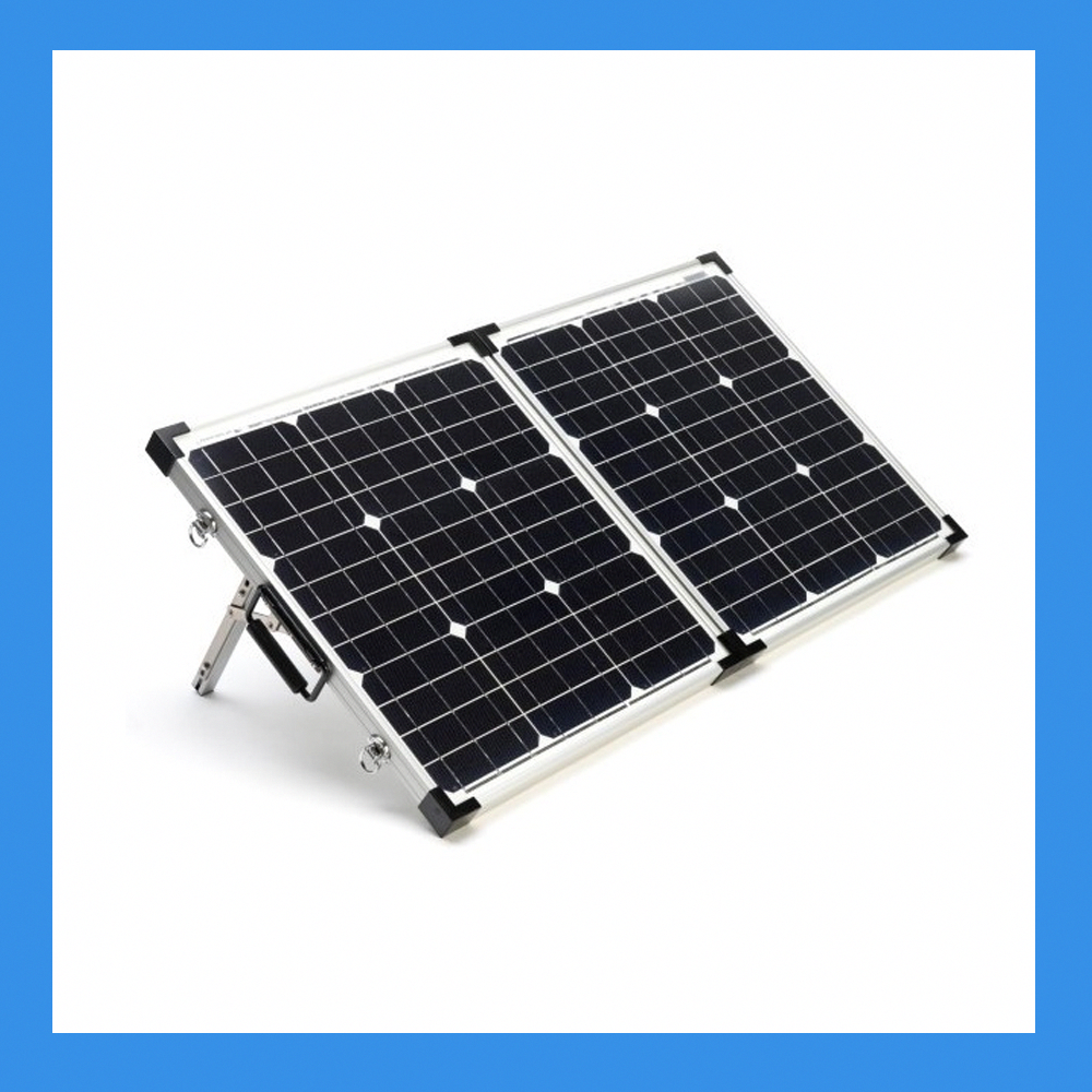 120 Watt Foldable Solar Panel For Charging Power Packs Free Padded Case Bsp 120 In 2020 Solar Energy Panels Solar Panels Solar Roof