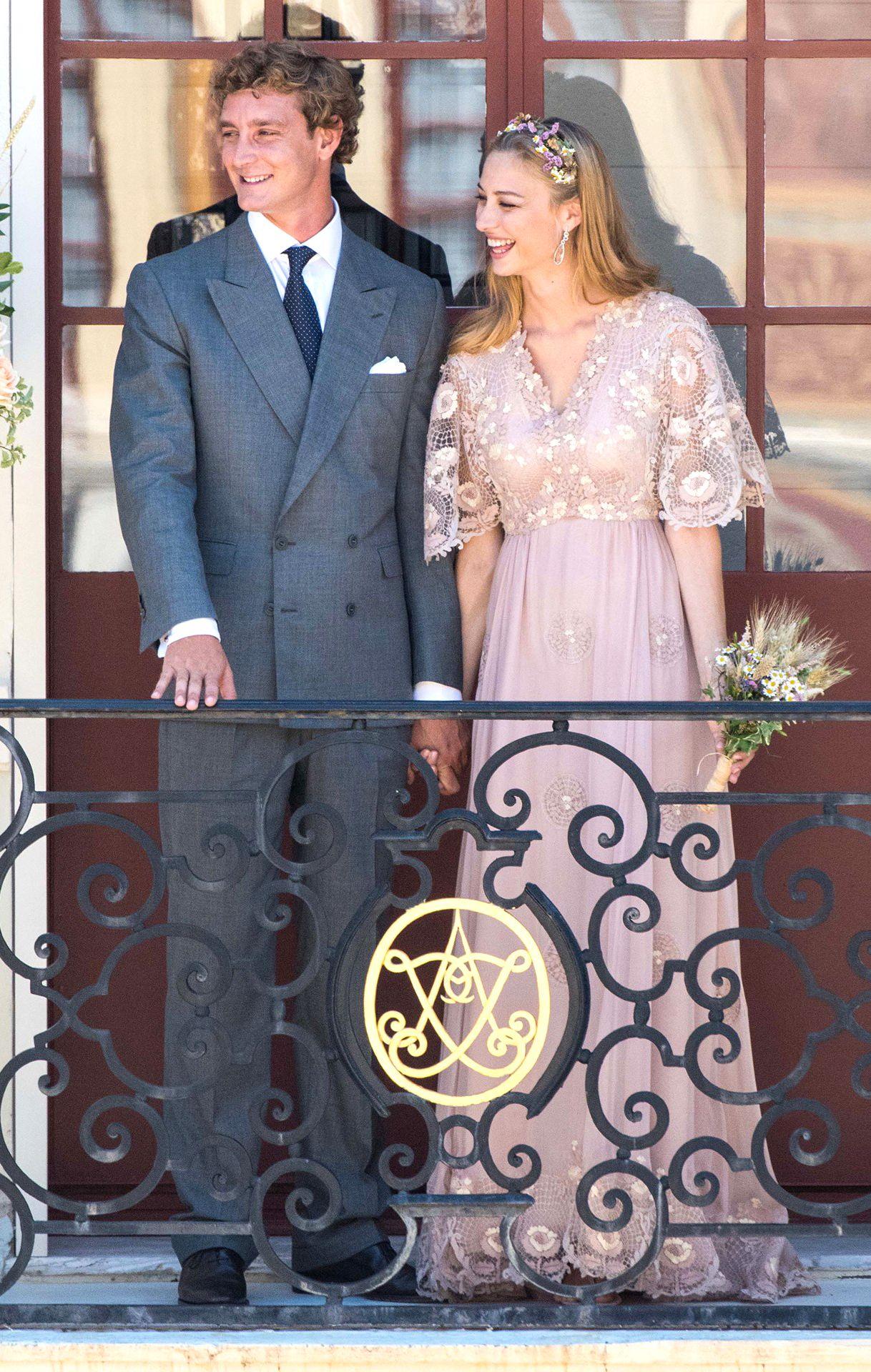 Пьер казираги и беатрис борромео свадьба фото