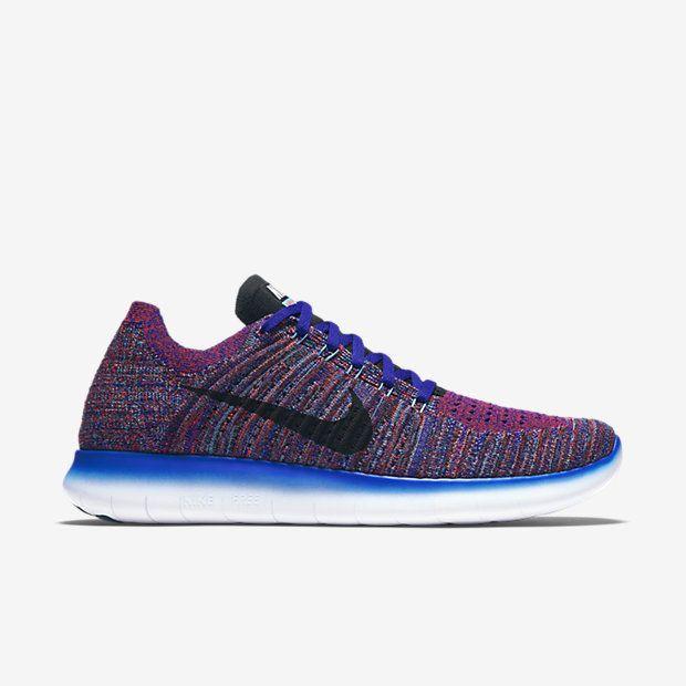 Nike Free RN Flyknit Mens Running Shoes 10.5 Concord Black 831069 402 #Nike #RunningCrossTraining