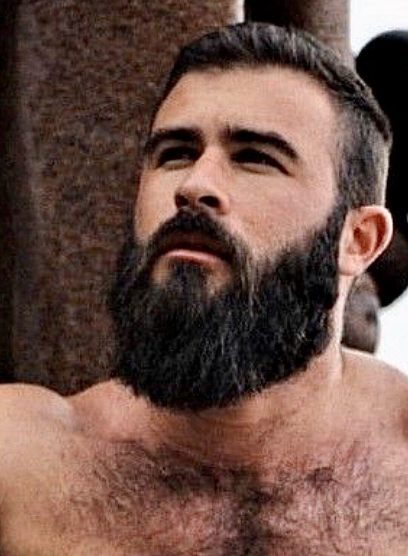 Gay Men With Facial Hair