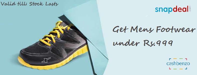 Snapdeal #Offer Get #Mens #Footwear