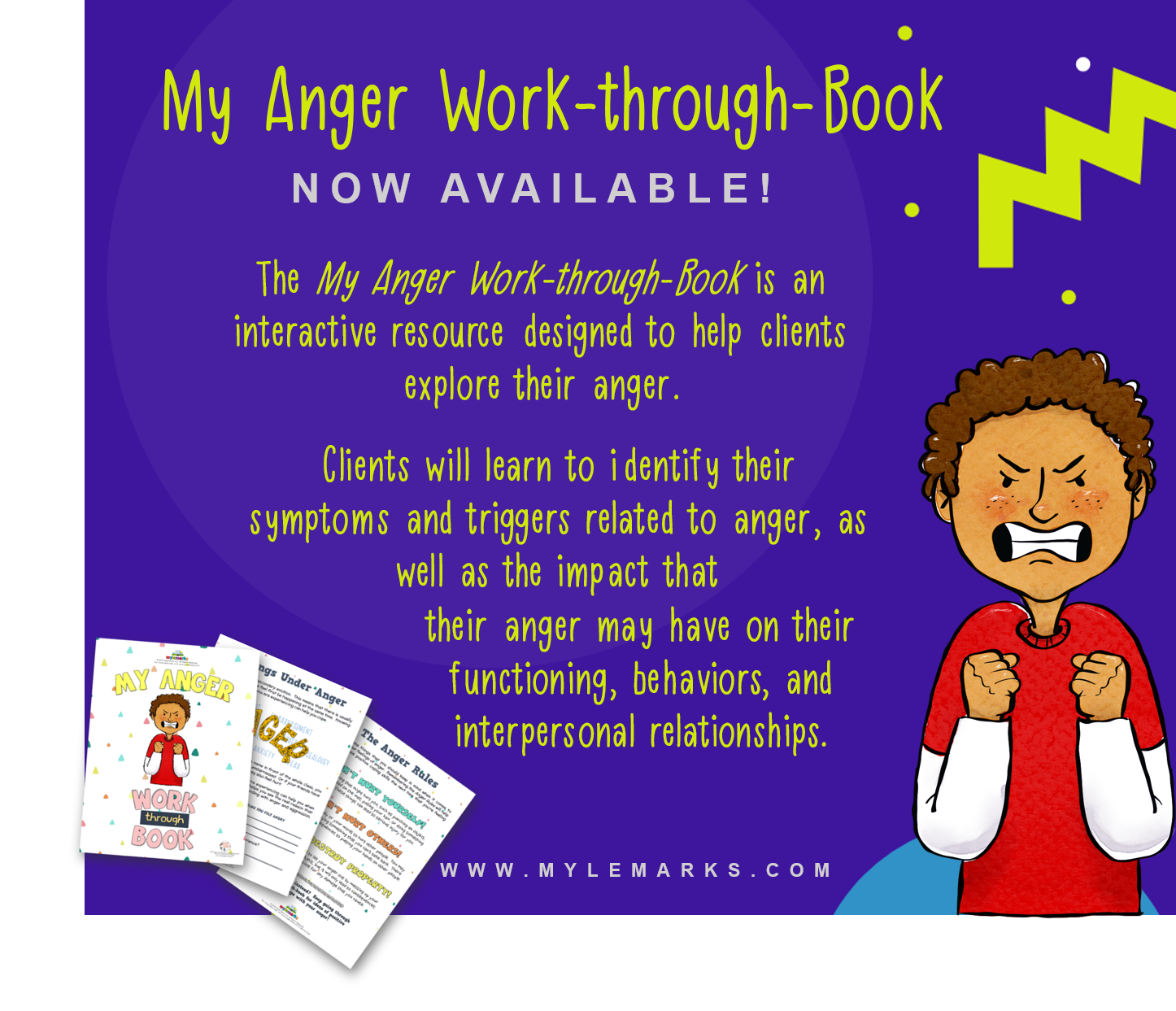 Pin By Mylemarks On Anger Management Resources For Kids
