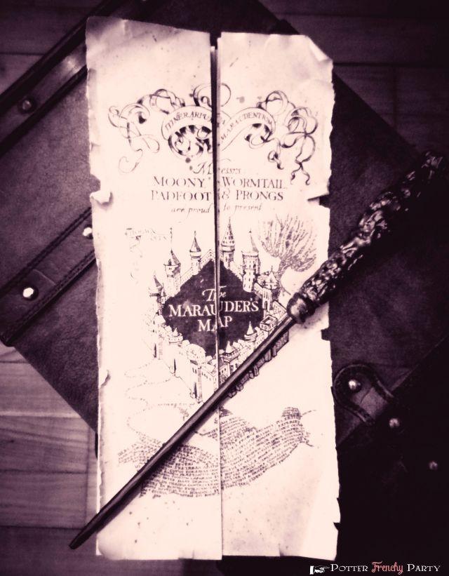 harry potter carte du maraudeur 27 Harry Potter DIYs That Are Basically Magic   La carte du