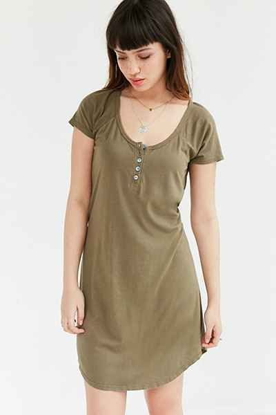 23278003349c Truly Madly Deeply Henley T-Shirt Dress   Outfits   Dresses, Shirt ...