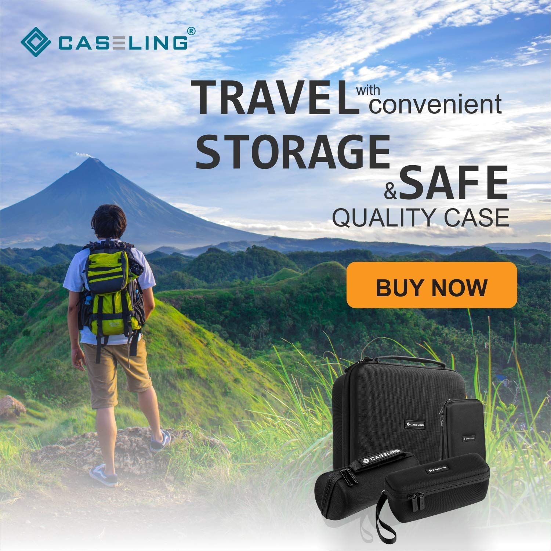 Caseling Hard CASE fits Logitech Wireless Gaming Headset G933, G430