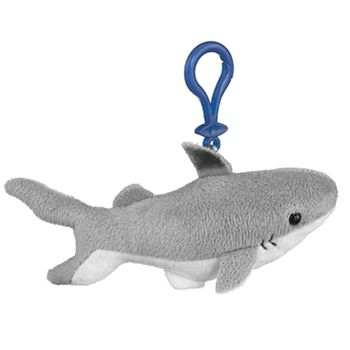 Small of the Wild Clip On Stuffed Shark by Wildlife Artists