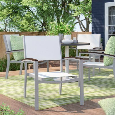 Sol 72 Outdoor Caspian 5 Piece Multiple Chairs Seating Group