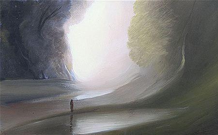 UBALDO BARTOLINI born 1944  -    La nebbia che avanza