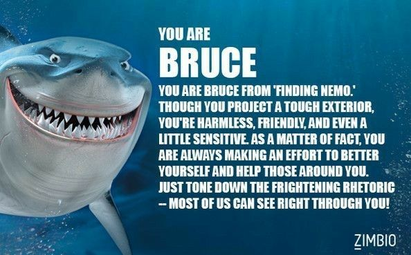 Findingnemo 2003 Bruce Finding Nemo Finding Nemo Quotes Heart For Kids