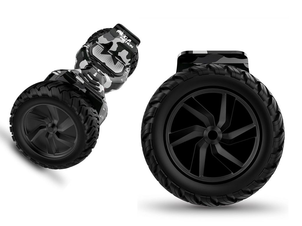 """8.5"""" performance solid tires provide you with better"""