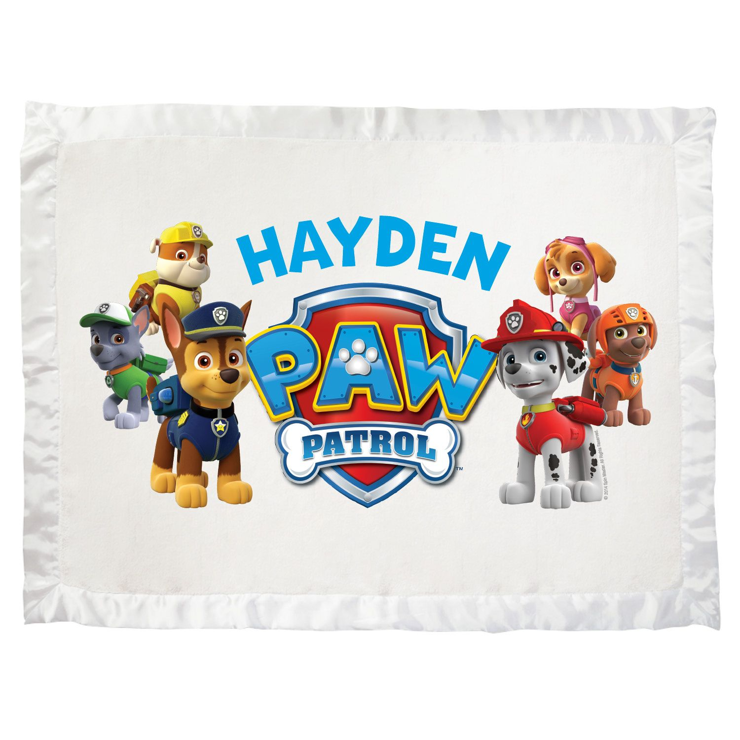 Paw Patrol Puptastic Ultra Soft Baby Blanket - Bedding & Blankets - Decor | Tv's Toy Box