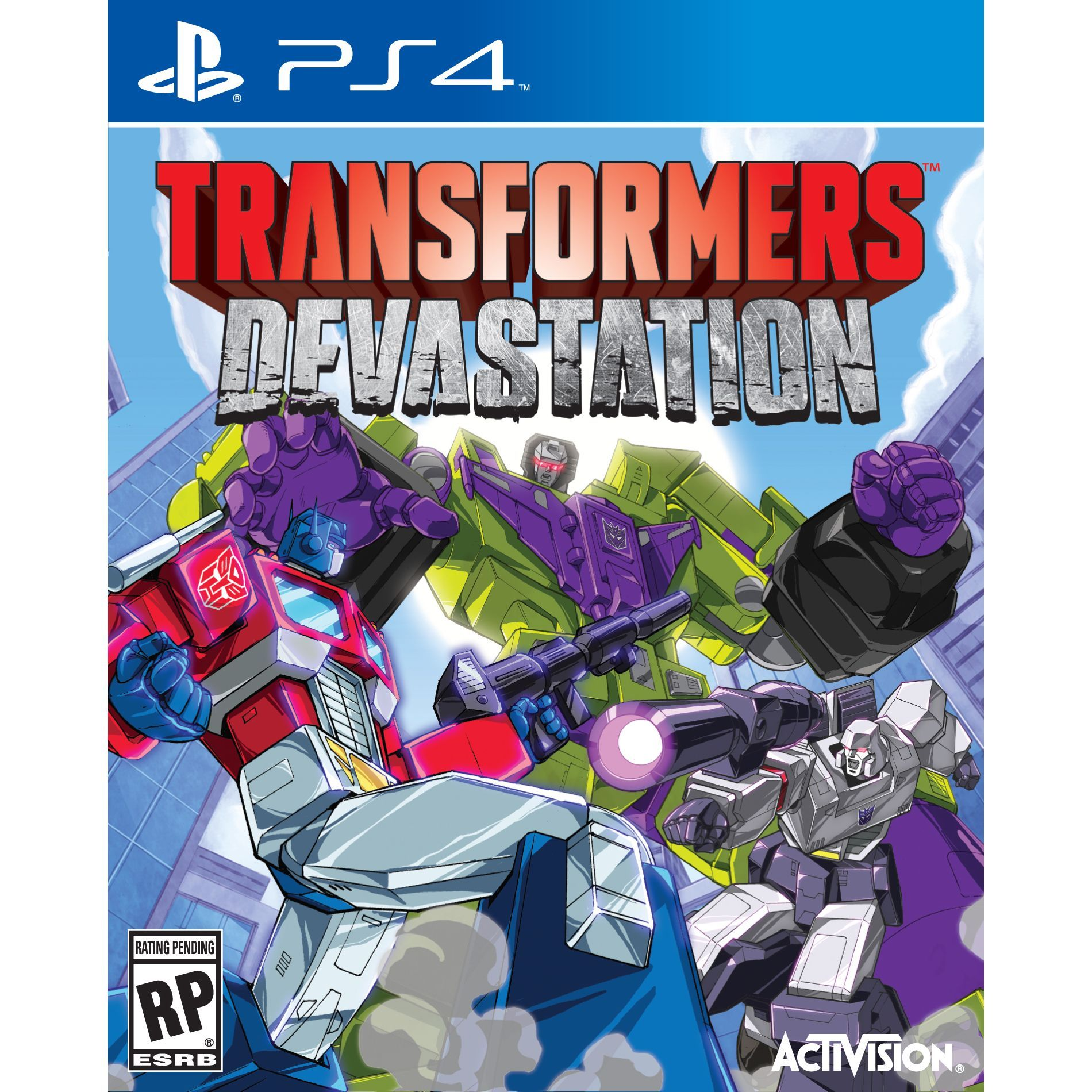 PS4 - Transformers: Devastation