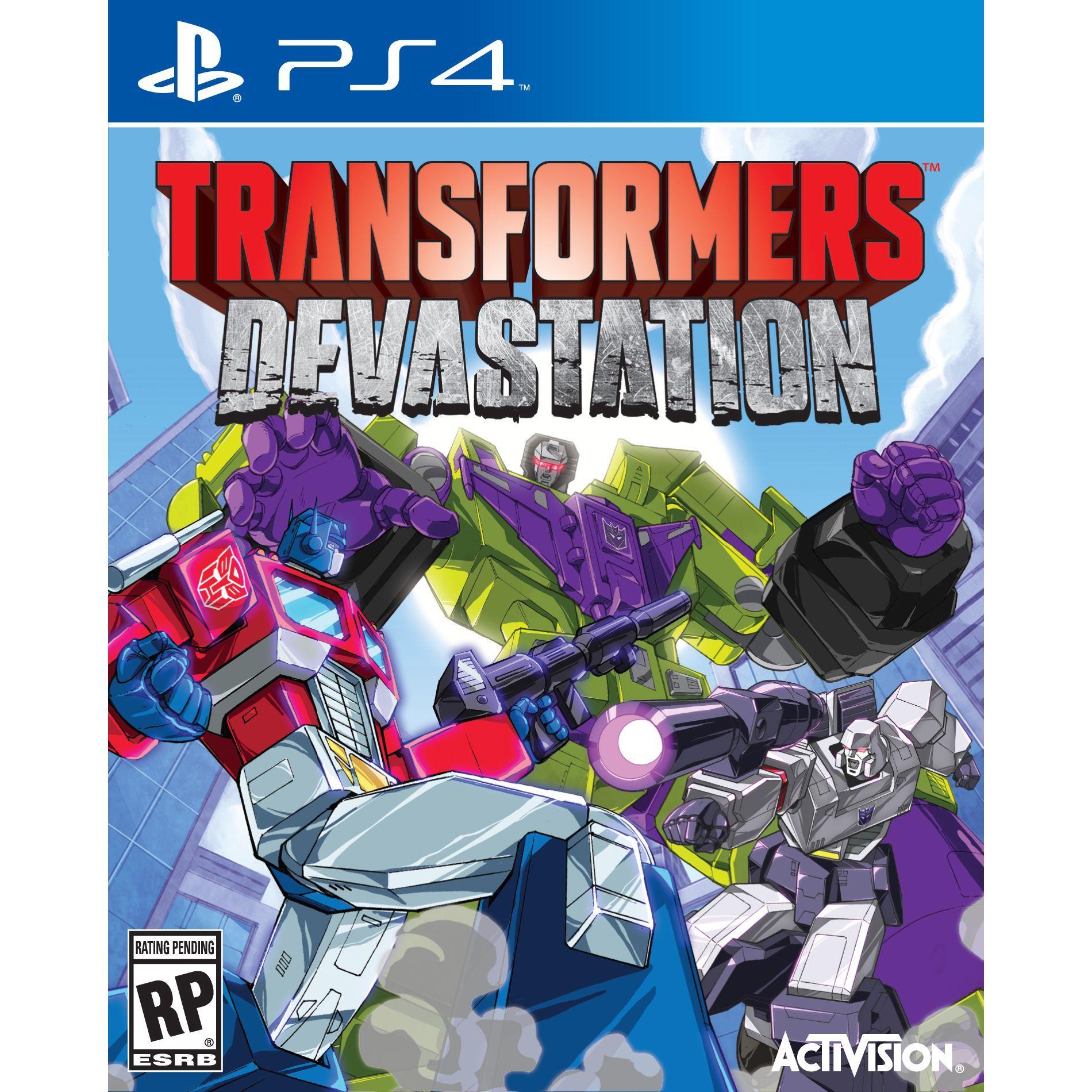 PS4 - Transformers: Devastation