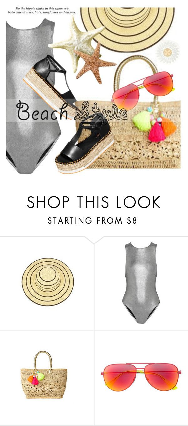 """Prism / H&M"" by pinkypanky ❤ liked on Polyvore featuring Prism, Lilly Pulitzer, H&M and Yves Saint Laurent"