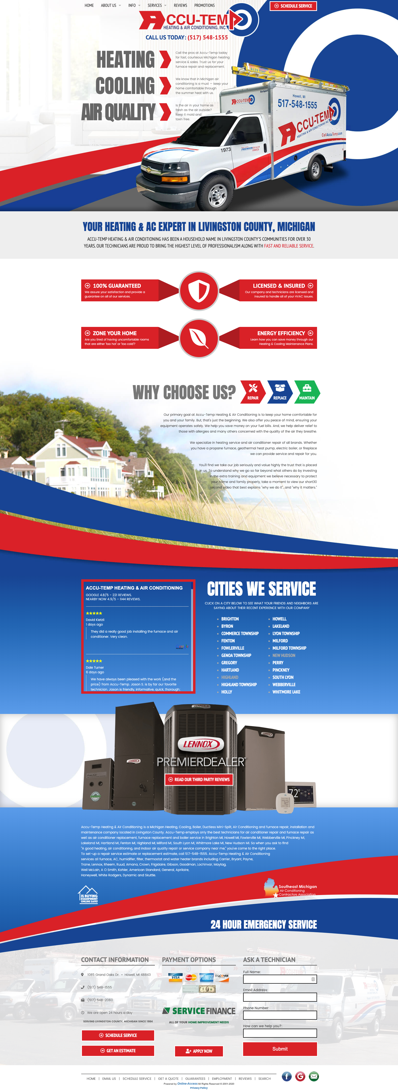 Branded Heating And Air Conditioning Website Design In 2020 Branding Website Design
