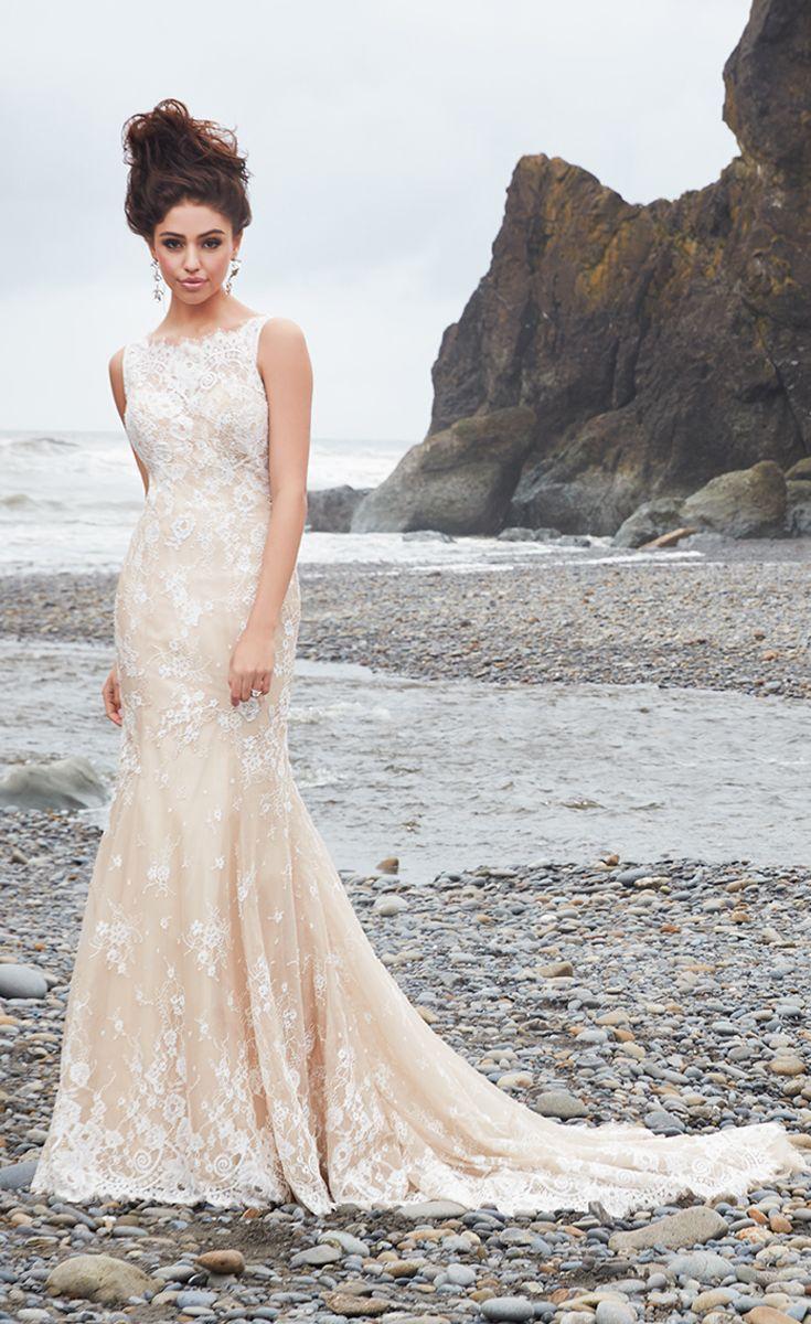 The Allure Bridals 9354 wedding dress lets the modern bride enjoy ...