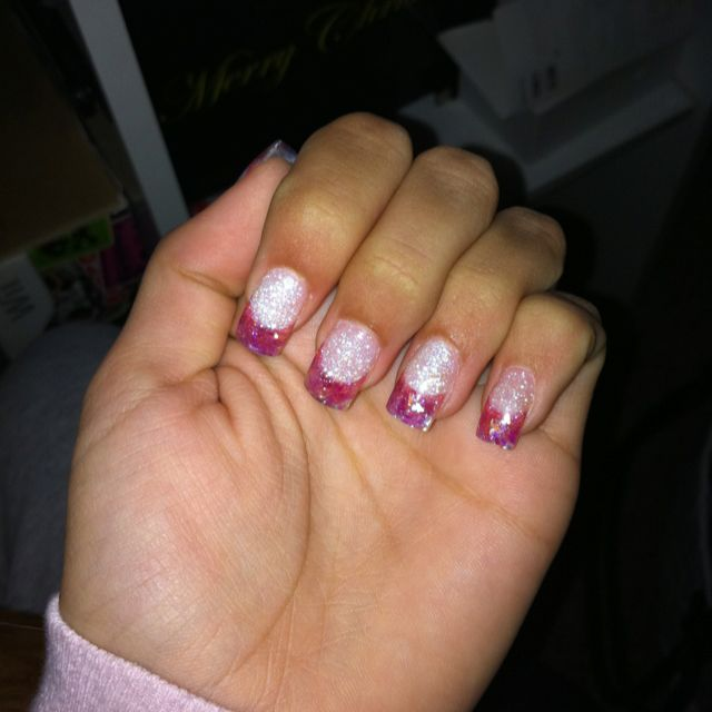 My cotton candy nails ;)