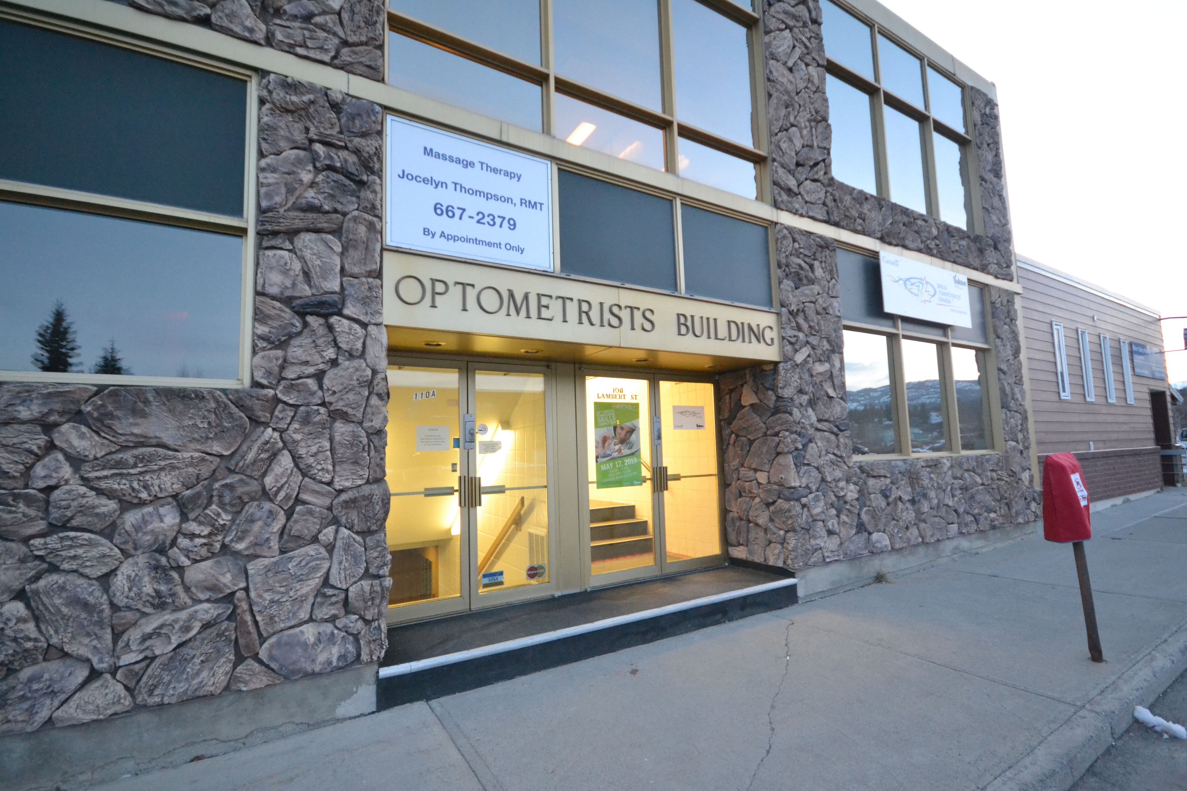 Northern Lights Optometry Ltd. located at 2093 2nd Ave, in downtown Whitehorse. If you can't tell me how many fingers I am holding up right now it's time to make an appointment! 1-(867) 668-2020. http://www.domerealty.ca/