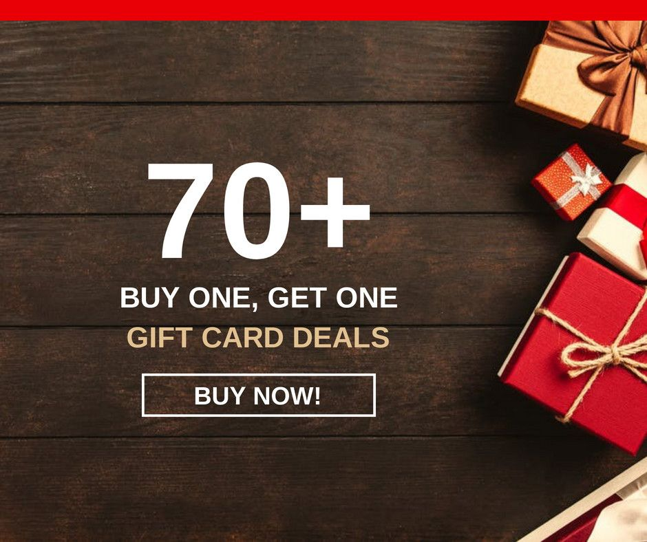 45 Gift Card Bogos And Promos For 2020 Holidays Giftcards Com Holiday Season Gift Gift Card Gift Card Deals