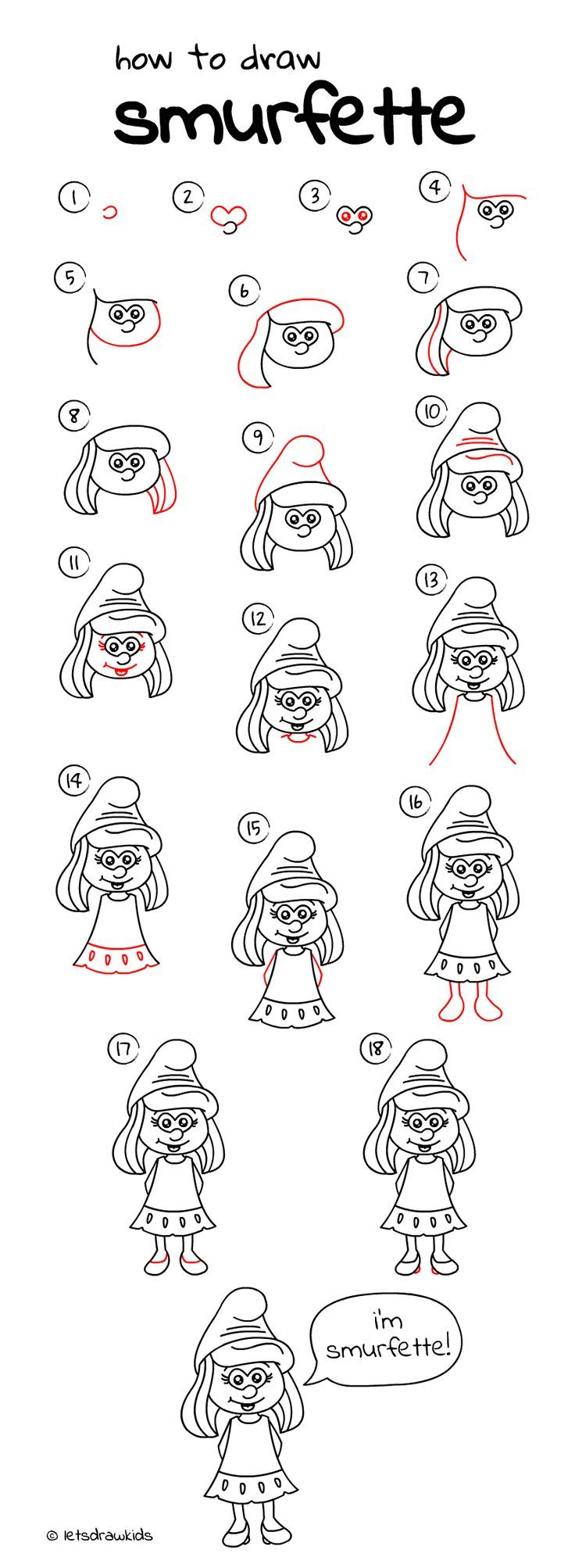 Easy Drawing Step By Perfect For Kids