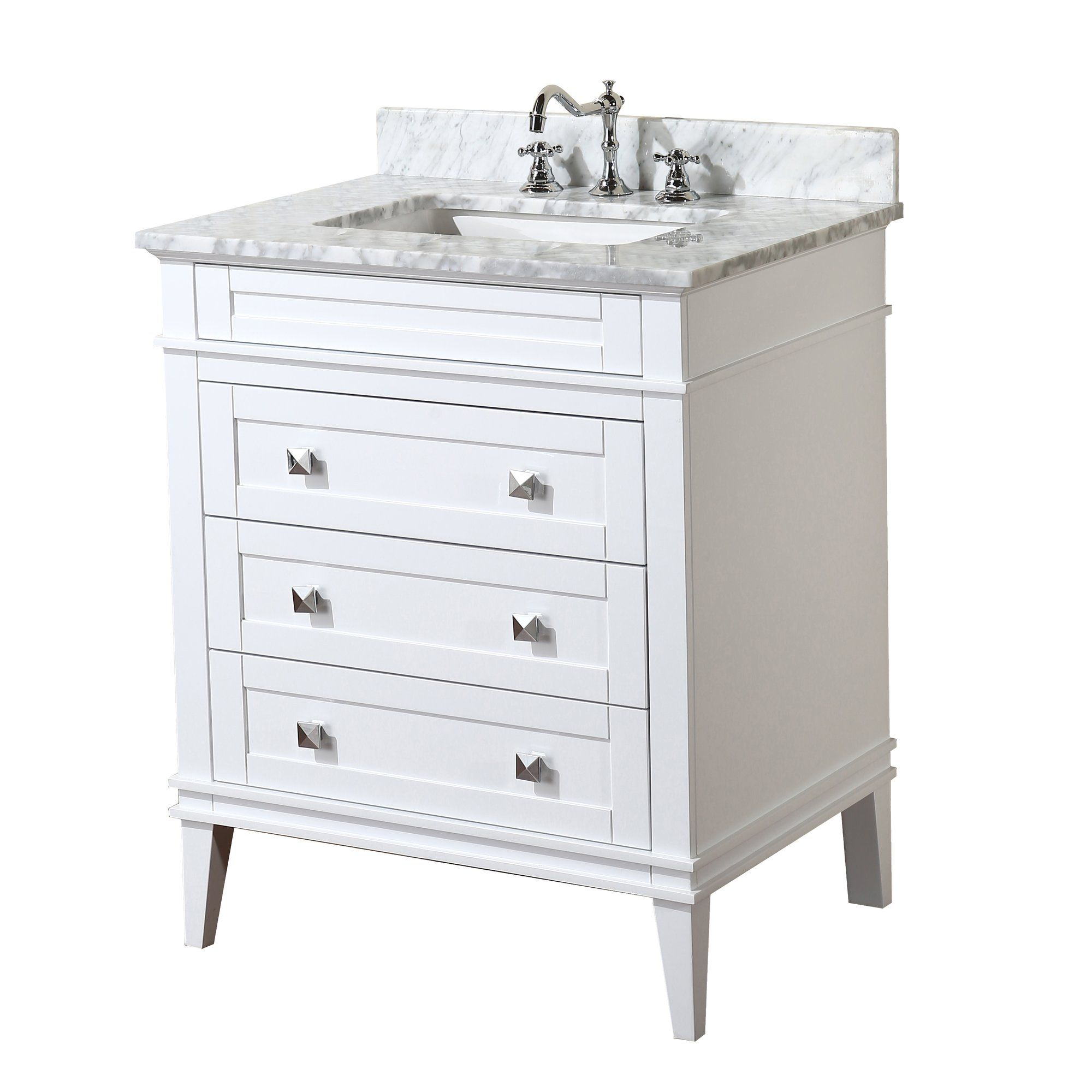 Eleanor 30 Single Bathroom Vanity Set With Images 24 Inch