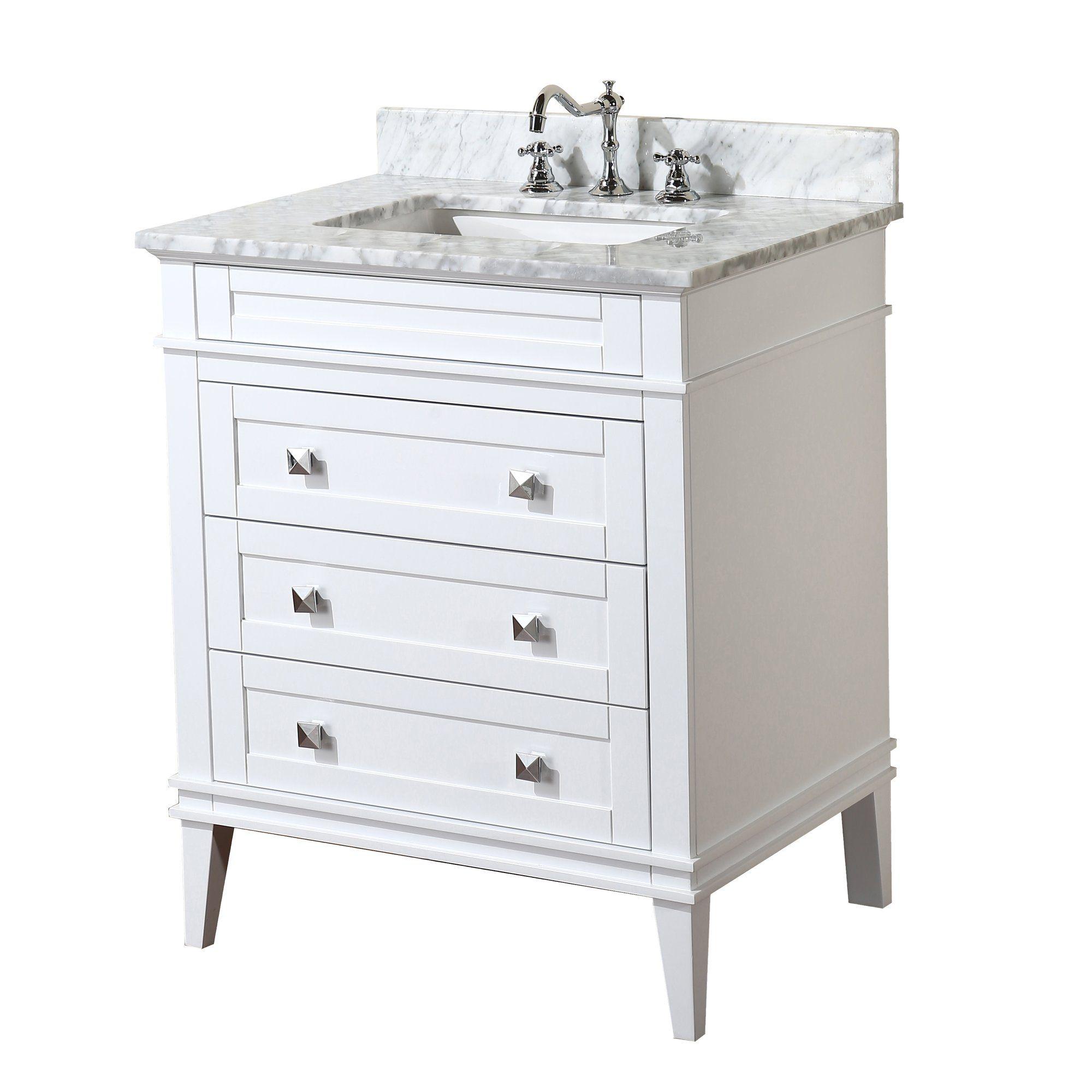 Eleanor 30 Single Bathroom Vanity Set 24 Inch Bathroom Vanity