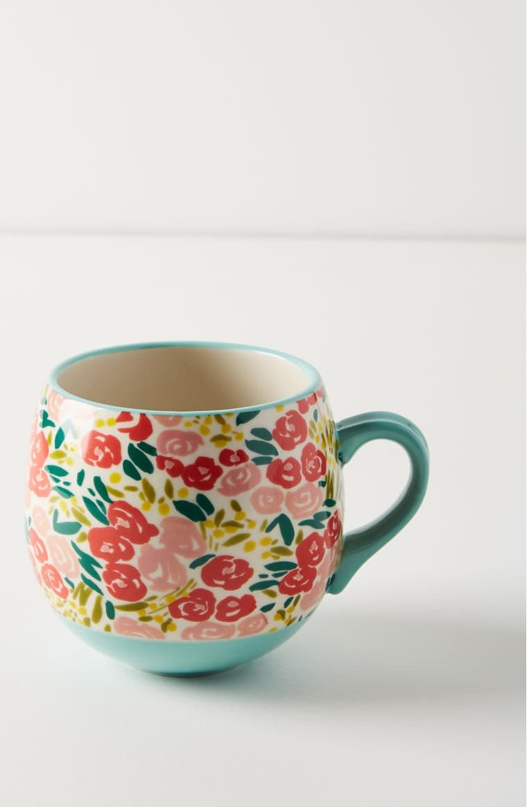Anthropologie Painted Poppies Mug | Nordstrom