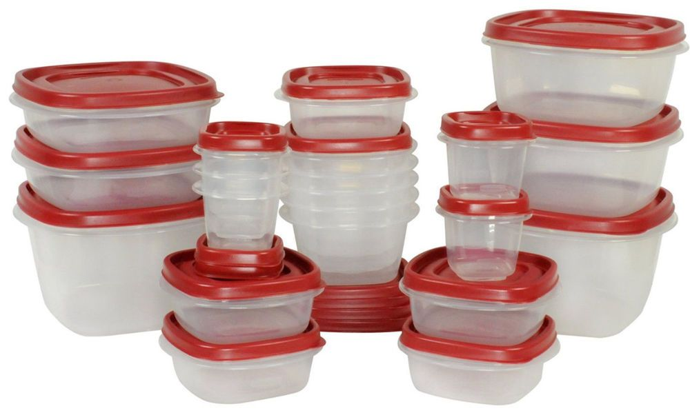Details about Rubbermaid 50-Piece Easy Find Lids Food ...