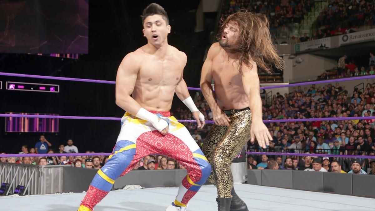 WWE Clash of Champions 2016 results: TJ Perkins submits