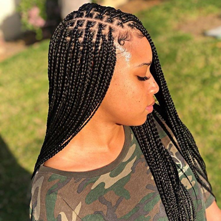 New The 10 Best Hairstyles With Pictures Box Braids Naturalhair Blackg Box Braids Hairstyles For Black Women Box Braids Styling Braided Hairstyles
