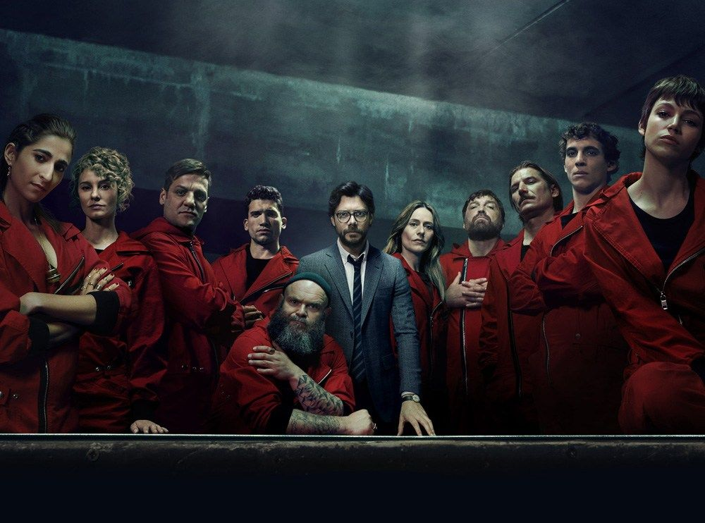 You Should Be Watching Money Heist The Nerd Daily Netflix Netflix Review Netflix Series
