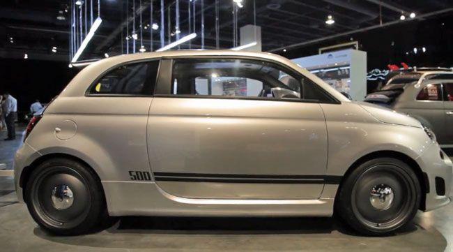 Fiat 500 Abarth Cafe Racerk Automotive Design Pinterest