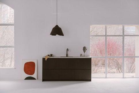 Fornir naruralny Dąb bagienny w modelu Blade z kolekcji fornirów naturalnych Norwegian Wood - drzwi do kuchni IKEA