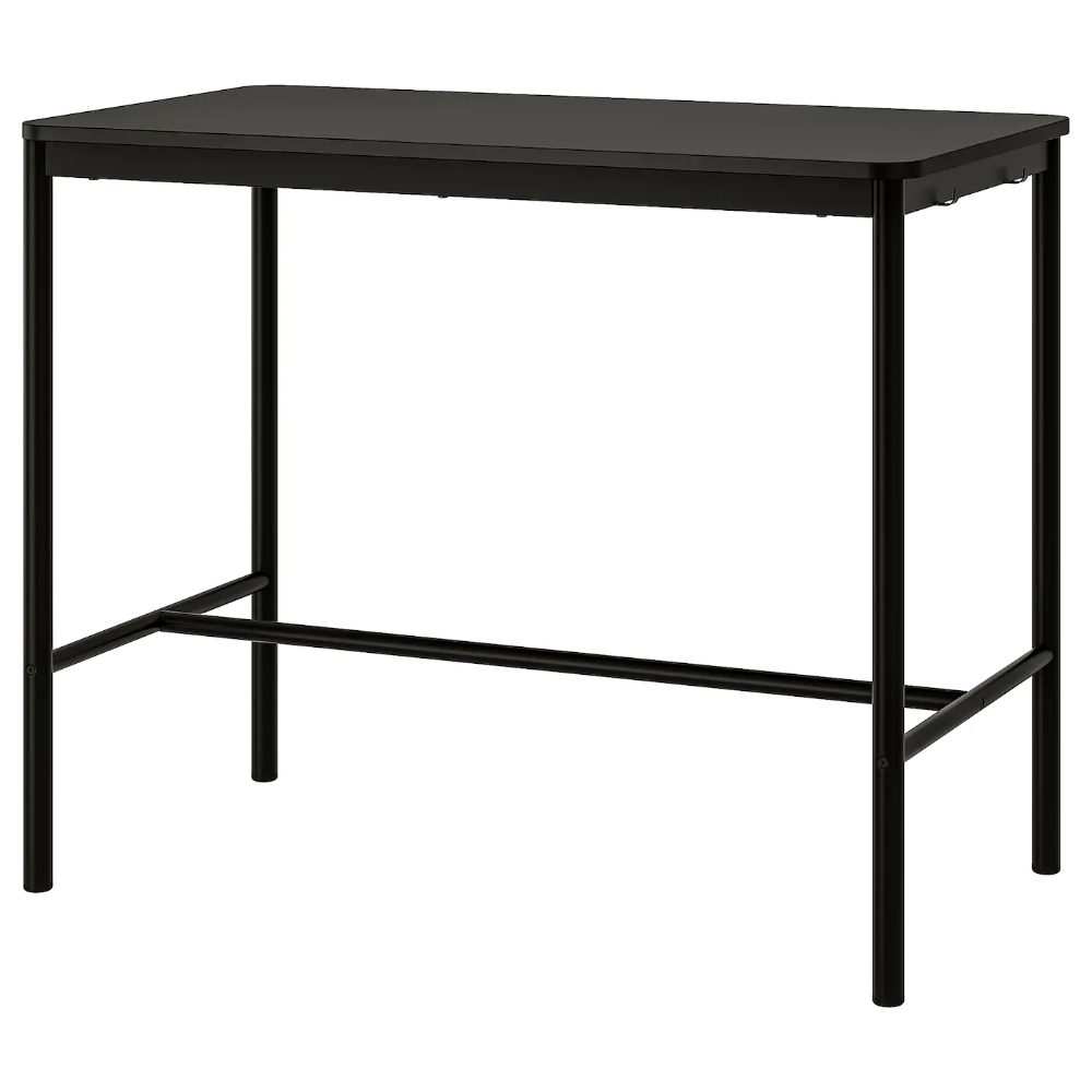 Tommaryd Table Anthracite 51 1 8x27 1 2 41 3 8 In 2020 Ikea Ikea Table Ikea Bar