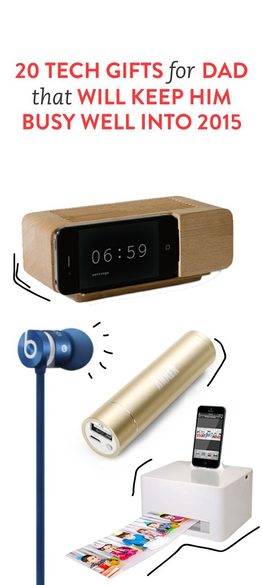 20 Tech Gifts for Dad. So good! - 20 Tech Gifts Designed Just For Dad Tis The Season Pinterest