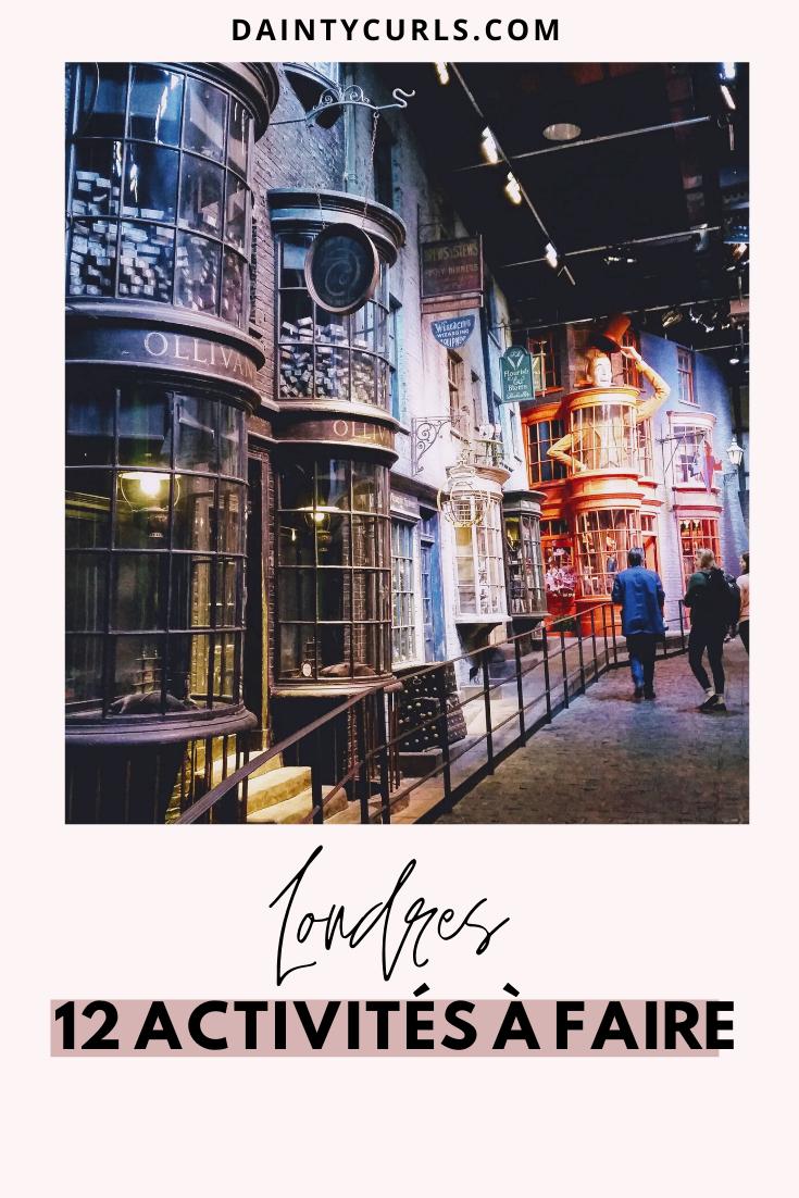 Découverte des quartiers populaires, visite du Studio Harry Potter, participer à une afternoon tea...Découvrez 12 activités incontournables à faire à Londres le temps d'un week-end.