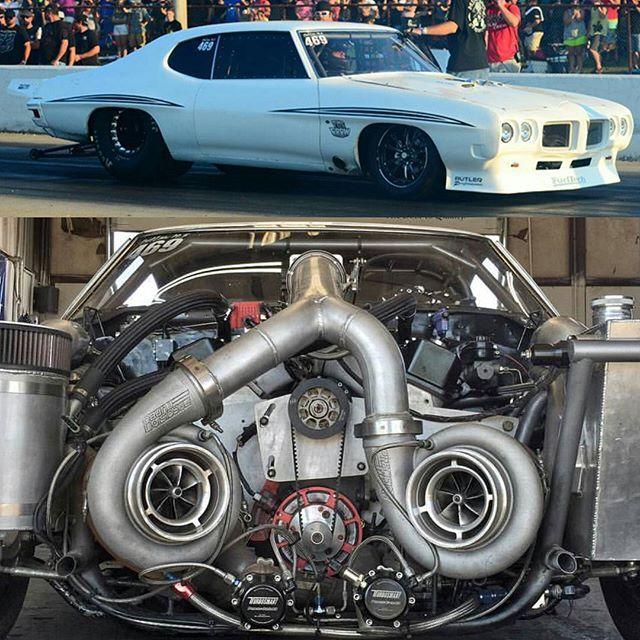 Justin Shearer Big Chief Twin Turbo Pontiac Lemans 482ci