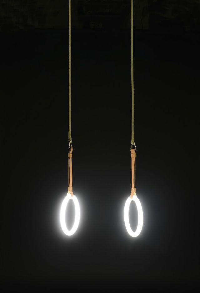 Ring Lamps By Sarah Illenberger Gym Lighting Lights Light