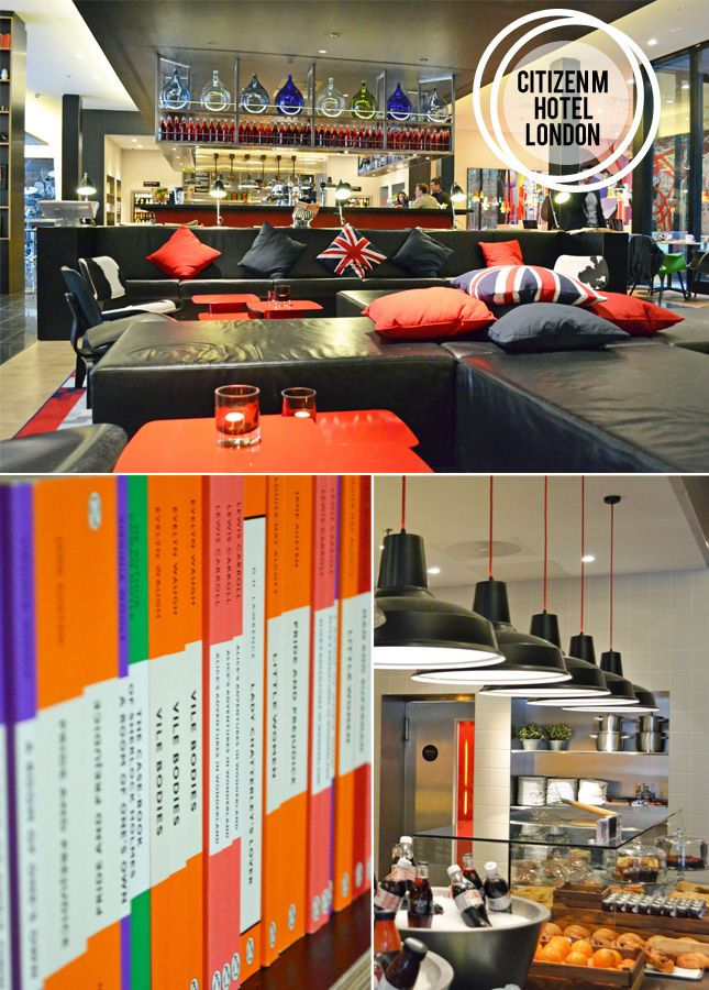 From Place To Space CitizenM Hotel, London Pinterest London - design hotel citizenm london