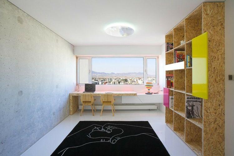 Home Office mit Ausblick Einrichtungsideen von 7 Designern Pinterest - homeoffice einrichtung ideen interieur