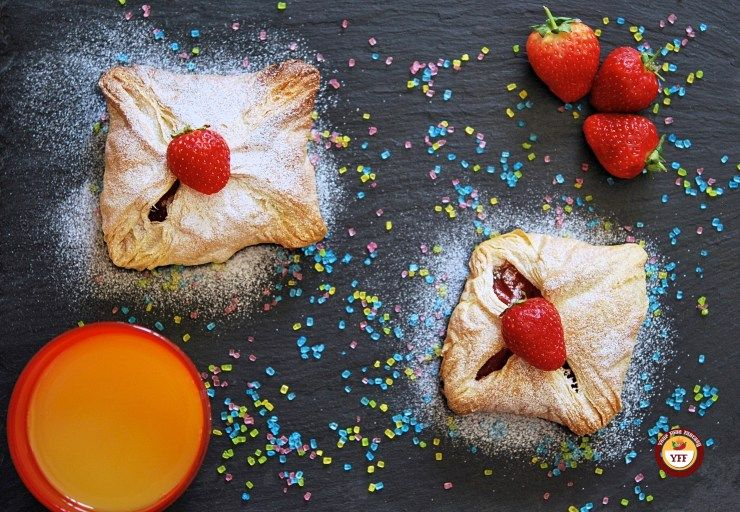 Apple and Strawberry Pockets Apple and Strawberry Pocket | Parcel - Your Food Fantasy