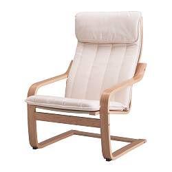 Elegant IKEA POÄNG Armchair Oak Veneer/ransta Natural Layer Glued Bent Oak Gives  Comfortable Resilience.