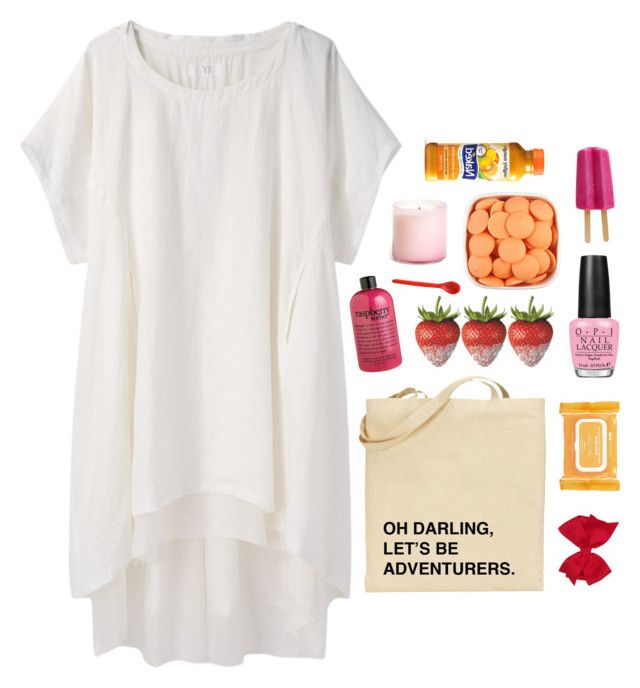 """""""// Time starts to pass, before you know it you're frozen//"""" by the-key-to-my-heart ❤ liked on Polyvore featuring Y's by Yohji Yamamoto, philosophy, OPI, Ole Henriksen, LAFCO and Tina Frey Designs"""
