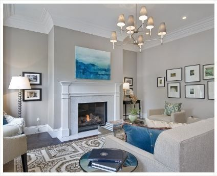 Love These Warm Light Grey Walls Paint Color Benjamin