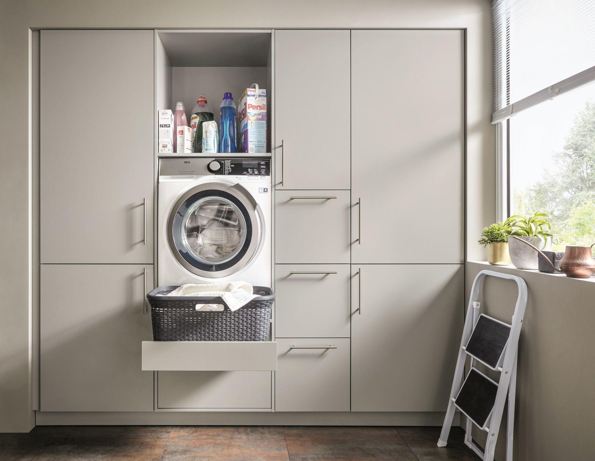 Hauswirtschaftsraum Bewusst Kochen Europamoebel At Hauswirtschaftsraum Waschkuche Im Keller Hauswirtschaftsraum Ideen