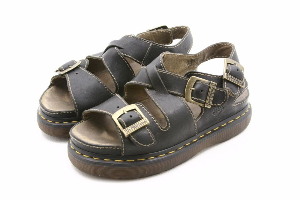 7ce611590f072a Dr Doc Martens Unisex Sandals USA mens size 8 or womens 9 fisherman UK 7  ankle  DrMartens  Fisherman